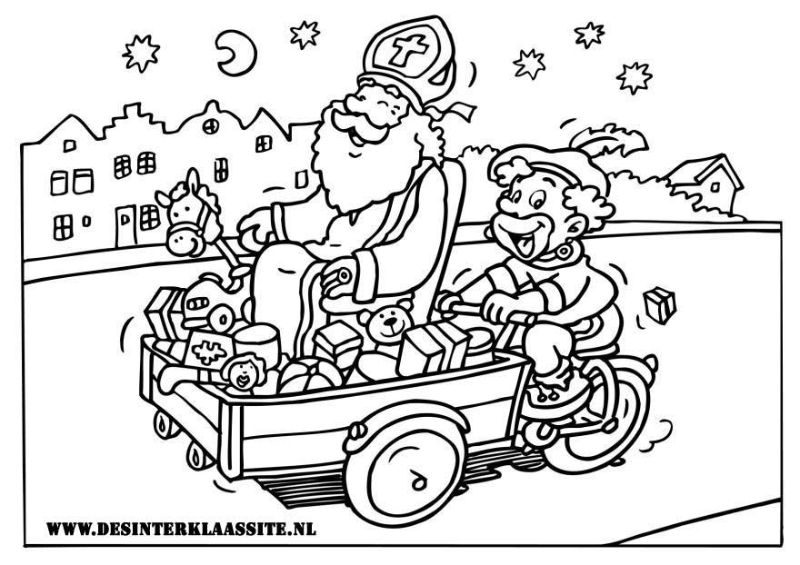 Sinterklaas Kleurplaten Desinterklaassite Nl